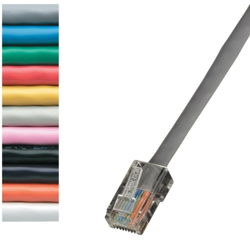 Black Box EVNSL0172WH-0002 Ethernet Patch Cable Pack of 25 pcs