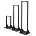 Steel Distribution Rack, 2-Post 10-32 Mounting, 163 kg Capacity