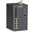 PoE+ Managed Gigabit Ethernet Switch, DIN-Rail